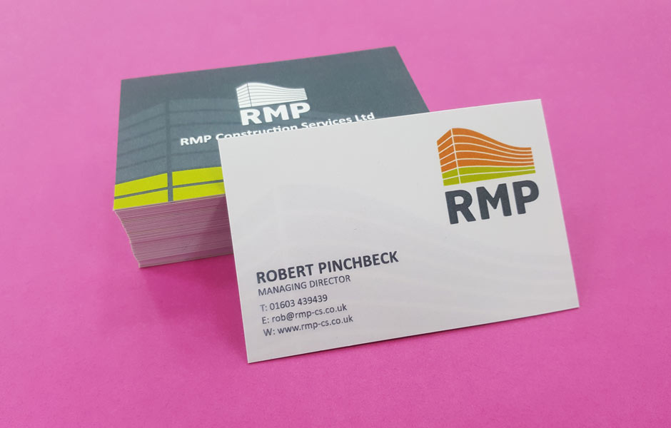 RMP business cards Norwich.