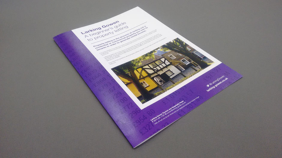 Brochure Design in Norwich.