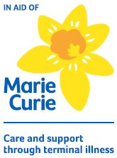 Marie Curie cancer care.