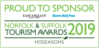 Norwich printers sponsor Norfolk and Suffolk Tourism Awards 2019.